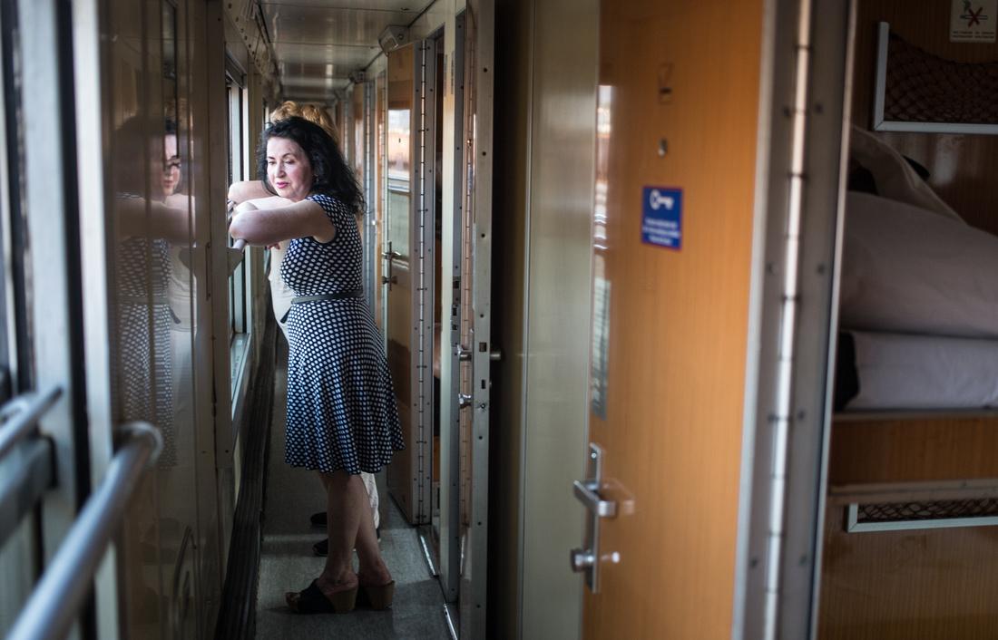 Bar, Montenegro-Belgrade, Serbia sleeper train